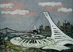 Le stade olympique - Montoya, Claude