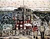 Neige sur la ville - Montoya, Claude