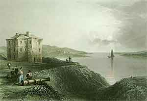 An Old Fort in Nova Scotia - Bartlett, W. H.